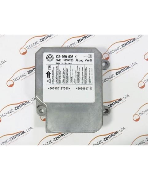 Centralina de Airbags - 1C0909605K