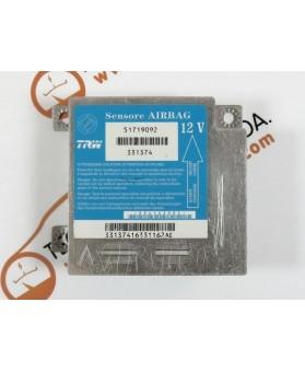 Centralina de Airbags - 51719092