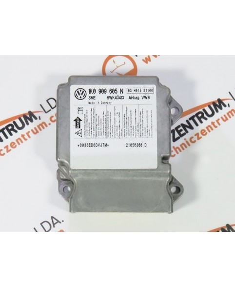 Module - Boitier - Airbag - 1K0909605N
