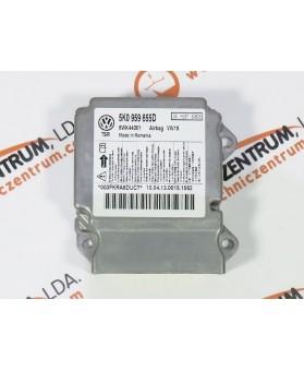Centralina de Airbags - 5K0959655D