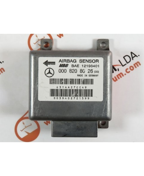 Centralina de Airbags - 0008208026