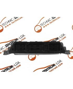 Centralina de Motor ECU Ford Focus 1.6 TDCI 6M5112A650NA, 6M51-12A650-NA, 0281011701, 0 281 011 701, 281 011 701, 1039S12327
