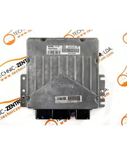Engine Control Unit Peugeot 307 2 0 Hdi 9644895180, 96 448 951