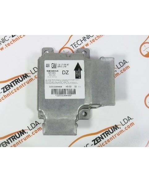 Centralita Airbags - 13170587DZ