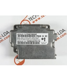 Centralita Airbags - P04672603AE