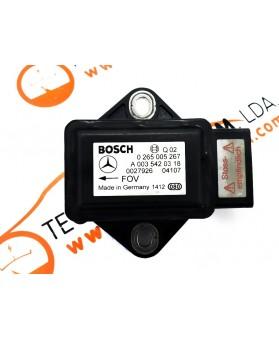 Sensor de Aceleração - A0035420318