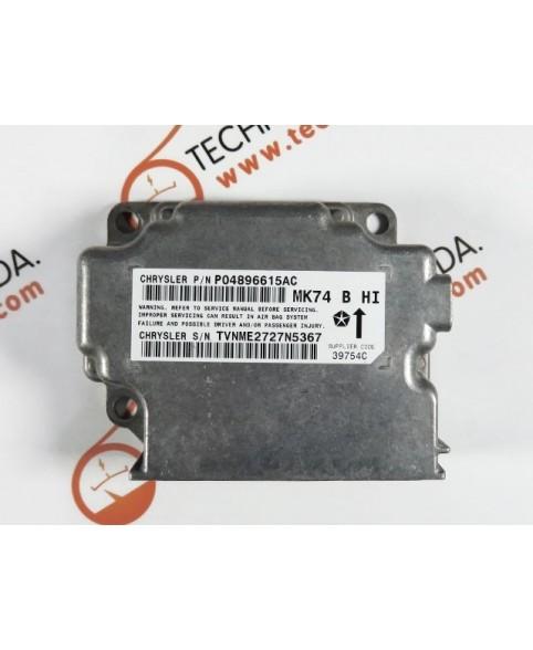Centralita Airbags - P04896615AC