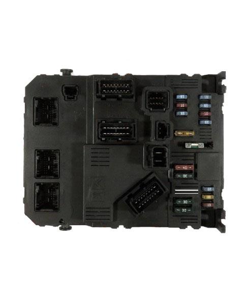 BSI - Caja Fusibles Peugeot 206  9653667680, 96 536 676 80, S118085220E, S118085220 E, BSIE0200, 73226