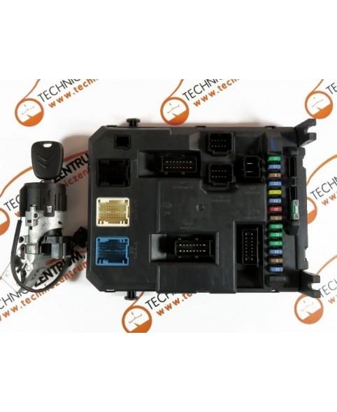 BSI - Caja Fusibles Peugeot 207 Citroen C3  9664983280, 96 649 832 80, 22661F01, H06-0, F06-3