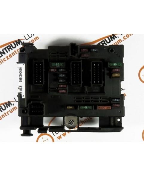 BSI - Cx. Fusíveis Peugeot 307  9650663880, 96 506 638 80, BSM B5