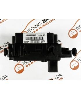 BSI - Fuse Box Peugeot 307  9650663880, 96 506 638 80, BSM B5