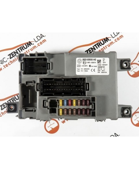 BSI - Cx. Fusíveis Fiat 500  00518996140, 116RI000674, AM433RX/125kHz (E13)