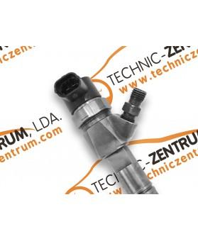 Injectores - 0445110351 - Fiat Doblo/Panda/Fiorino/Qubo / Peugeot Bipper / Citroen Nemo