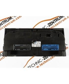 Heater Control Opel Meriva - 013132388