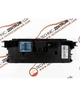 Heater Control Peugeot 207 - 96497866XT03