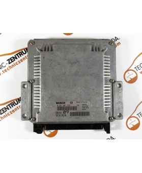 Centralita de Motor ECU Peugeot 206 2.0 HDI 9635157280, 96 351 572, 0281001978, 0 281 001 978, 281 001 978, 28FM0090
