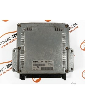 Centralita de Motor ECU Citroen Xsara Picasso 1.6HDI 9636256980, 96 362 569, 0281010249, 0 281 010 249, 281 010 249, 28FM0000