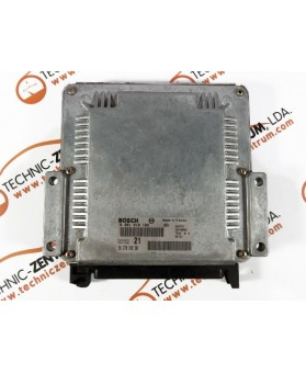 Engine Control Unit Citroen Xsara 9637089680, 96 370 896, 0281010162, 0 281 010 162, 281 010 162, 28FM0000, 74363