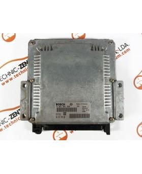 Centralita de Motor ECU Peugeot 206 2.0 HDI 9635157980, 96 351 579, 0281001866, 0 281 001 866, 281 001 866, 28FM0126