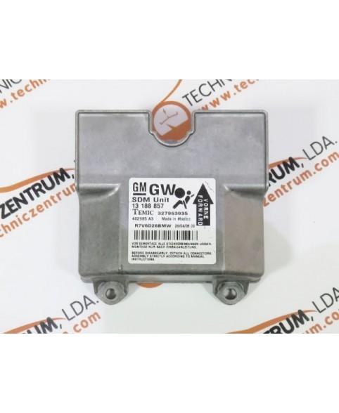 Module - Boitier - Airbag - 13188857GW