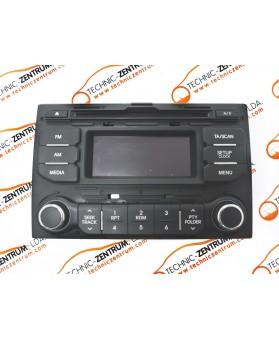 Auto-Rádio Kia Rio III 961701W700CA