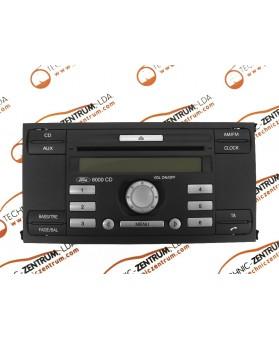 Auto-Rádio Ford Fiesta 6S6118C815AF, 6S61 18C815 AF, M030719