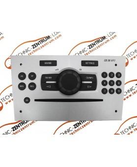 Auto-Rádio Opel Corsa D 13254184, 13 254 184, 497316088, 497 316 088