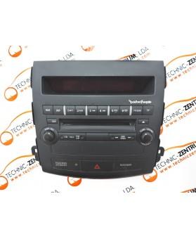 Auto-Rádio Mitsubishi Outlander 8002A067XA, 800 2A0 67 XA