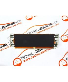 Visor - Display Peugeot 407 965788278001, 96 578 827 80 01, 102477516, 10 247 75 16
