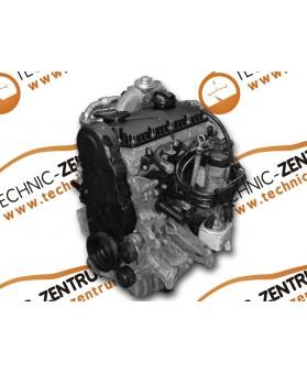 Motor Volkswagen Passat 1.9 TDI, Volkswagen Golf 1.9 TDI, Volkswagen Bora 1.9 TDI, Audi A3 1.9 TDI, Audi A4 1.9 TDI, Audi A6 1.9 TDI, Seat 1.9 TDI, AJM 115 CV