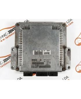Centralita de Motor ECU Peugeot 607 2.2 HDI 9646466280, 96 464 662, 0281010975, 0 281 010 975, 281 010 975, 1039F00000