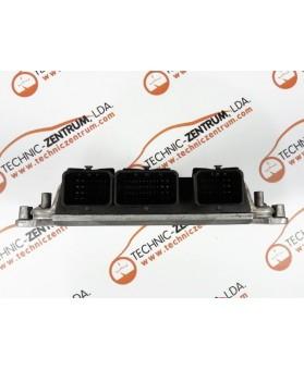 Centralina de Motor ECU Peugeot 607 Lift 2.2 HDI 9654695180, 96 546 951, 0281011781, 0 281 011 781, 281 011 781, 1039S08162