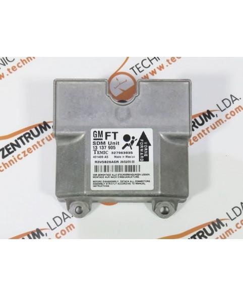 Centralina de Airbags - 13137905FT