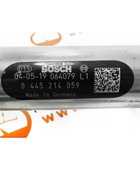 Tubo Distribuidor Combustível Fiat Ducato, Iveco Daily 0445214059, 0 445 214 059, 0281002534, 0 281 002 534