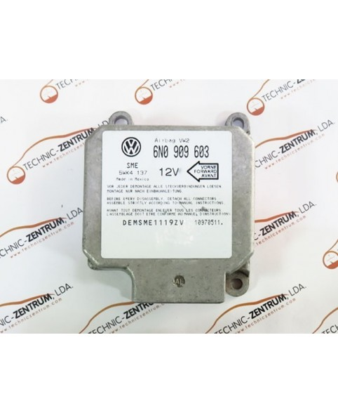 Centralita Airbags Volkswagen Polo - 6N0909603