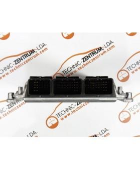 Centralina de Motor ECU Mitsubishi Carisma 1.9 DI-D MR507870, 0281010437, 0 281 010 437, 281 010 437, 28FM0221HOM, 8200065997, 8200049958, HOM 8200 065 997