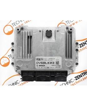 Centralina de Motor ECU Mazda 3 Ford C-Max 3U7112A650SA, 3U71-12A650-SA, 0281011618, 0 281 011 618, 1039S18622, DV6BLK03