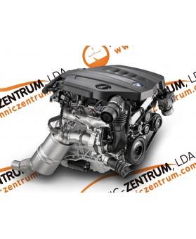 Motor BMW Série 1(E81, E82, E87, E88, F20, F21) / BMW Série 3 (E91, E92, E93, F30, F31, F34) / BMW X1, BMW X3, MINI R55, R56 2.0D N47D20A