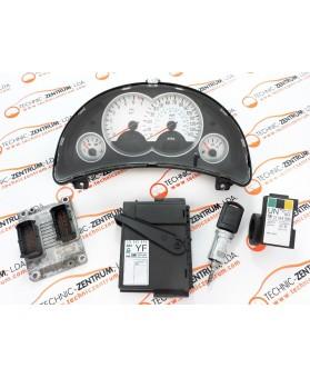 Kit's-ECU+Chave+IMO Opel Corsa C 55352622, 13173358WM, 13111111, 13144390