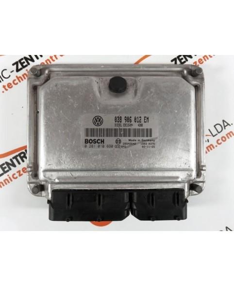 Centralita de Motor ECU Seat Ibiza 1.9 TDI 038906012EM, 038 906 012 EM, 0281010690, 0 281 010 690, 281 010 690, 28SA5642