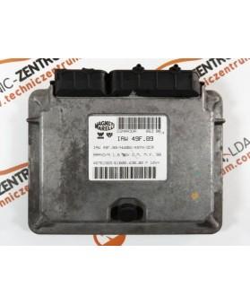 Engine Control Unit Fiat Bravo 1.6I 46761565, 6160043802, 61600.438.02, IAW49FB9