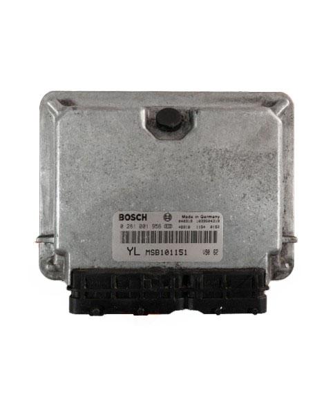 Centralina de Motor ECU Rover 25 MSB101151, 0281001956, 0 281 001 956, 281 001 956, 1039S04319