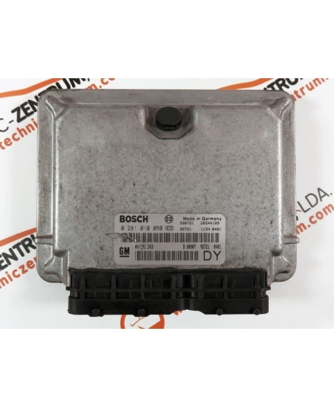 Engine Control Unit Opel Astra 2.0 DTI 09181243, 09 181 243, 0281010050, 0 281 010 050, 281 010 050, 28SA4109