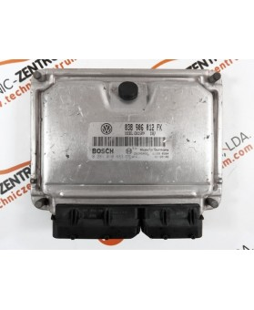 Centralita de Motor ECU Seat Leon 1.9 TDI 038906012FK, 038 906 012 FK, 0281010683, 0 281 010 683, 281 010 683, 28SA5082