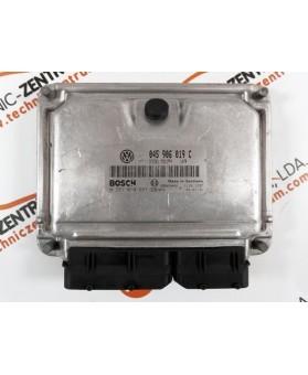Module - Boitier ECU VW Polo 1.4 TDI 045906019C, 045 906 019 C, 0281010697, 0 281 010 697, 281 010 697, 28SA5442