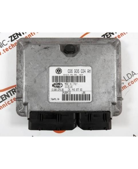 Module - Boitier ECU Seat Ibiza, Cordoba 1.4i 036906034AH, 036 906 034 AH, 6160067908, 61600.679.08, IAW4MVAH
