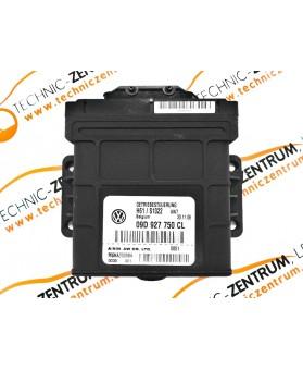 Centralina Cx. Autom. Volkswagen Touareg 09D927750CL, 09D 927 750 CL, MSHA000584
