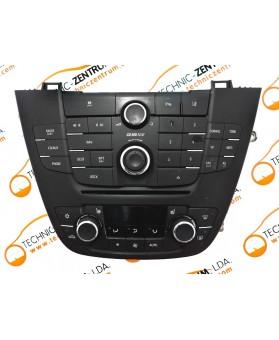 Módulo Climatrónic Opel Insignia 13277912, 13277870
