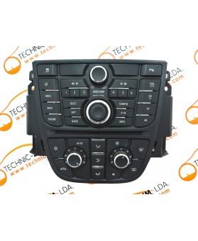 Módulo Climatrónic Opel Astra J 13435148, 13409862