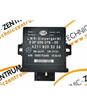 Controlador Luzes Mercedes Benz Classe E W211 A2118203226, A 211 820 32 26, 5DF 008 27 800